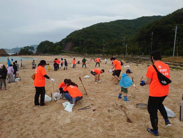 【活動報告】美しい浜プロジェクト in 水晶浜